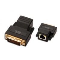 Extender VGA DVI-D (24+5) /M (wtyk) kat.5e 70m 1920 x 1440
