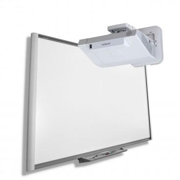Zestaw interaktywny Tablica interaktywna SMART M680 z projektorem Hitachi CP-AX2505 z dedykowanym uchwytem ściennym