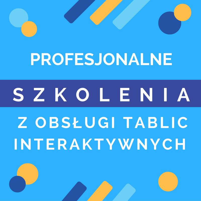 Szkolenia z obsługi tablic interaktywnych dla nauczycieli.